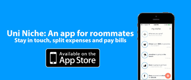 Roommates find their niche with new app