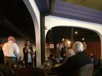 Many supporters, family and friends are at the Susan Hawk watch party. Photo credit: Katelyn Hall