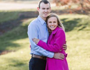 Alicia Arnold and fiancé Dan Pitts. Photo credit: Alicia Arnold