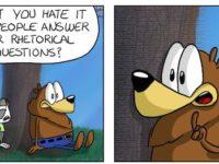This week's cartoon: Rhetorical questions
