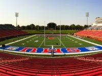Gerald J. Ford Stadium at SMU. Photo credit: SMU Athletics