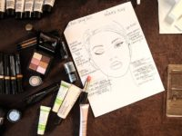 Inspiration for the Lela Rose spring 2017 beauty look by Mary Kay. Photo credit: Mary Kay
