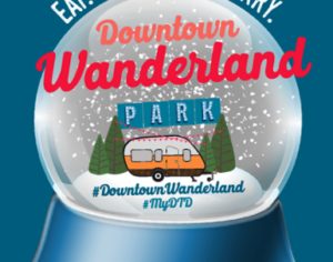Downtown Wanderland: Weekly Holidays Events in Dallas Photo credit: Downtown Wanderland Facebook