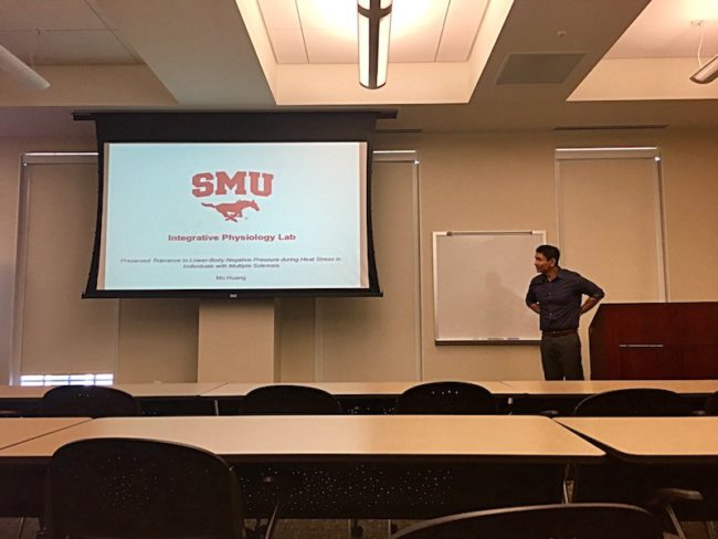 SMU Simmons School presents: Research on Exercise and Wellness Colloquium Series
