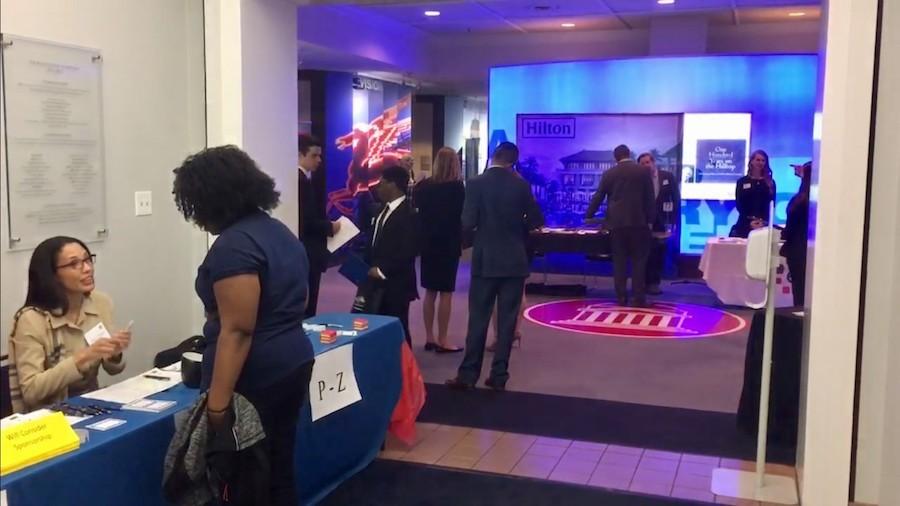 SMU Career Fair Attracts Job Seekers