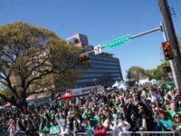 Photo credit: Dallas St. Patrick's Day Para