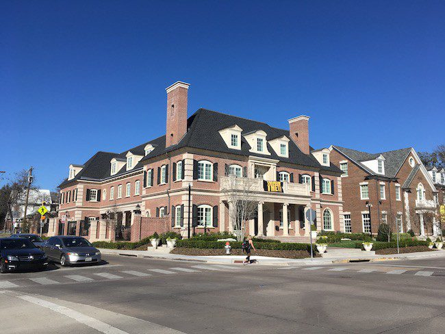 SMU's newest sorority house recieves presidential painting