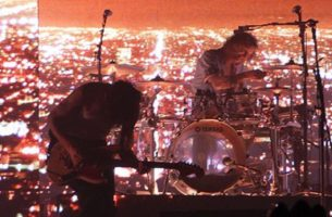 The 1975 brought light and sound together in Allen