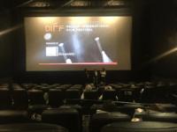 Post film Q&A session. Photo credit: Cynthia Mclaughlin