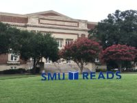 Each year, SMU selects a reading to encourage community members as well as SMU first years to read and engage in dialogue. Photo credit: Jacquelyn Elias