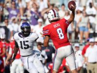 Quarterback Ben Hicks recorded over 300 passing yards for the second time this season. Photo credit: SMU Athletics