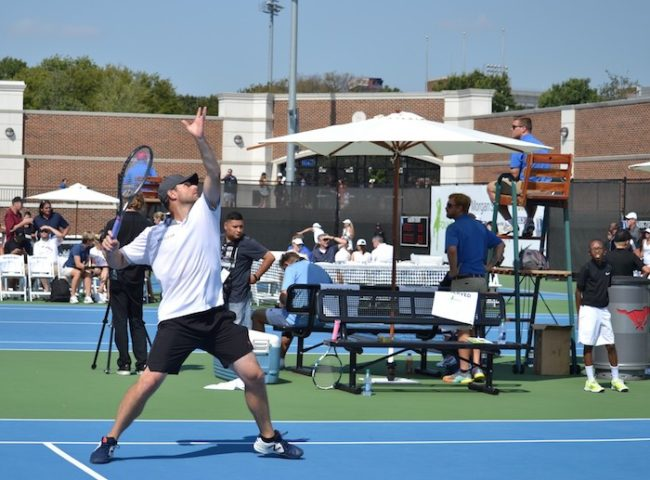 Stars hold their own against tennis pros at Dirk Nowitzki's annual tournament