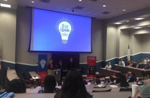 Students pitch idea at annual Big iDeas Pitch Contest Photo credit: Caleb Smith
