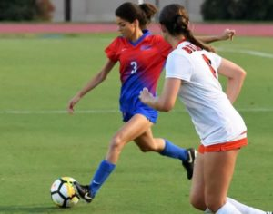 Women's soccer hits the road