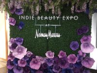 The Indie Beauty Expo display at the Neiman Marcus NorthPark Center entrance Photo credit: Lisa Salinas