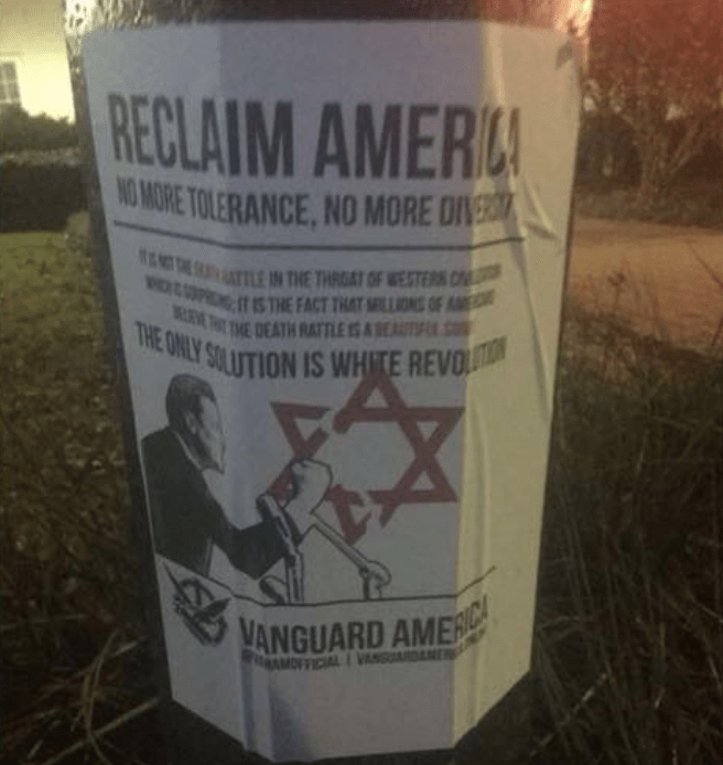 Group posts 'white revolution' flyers on SMU campus