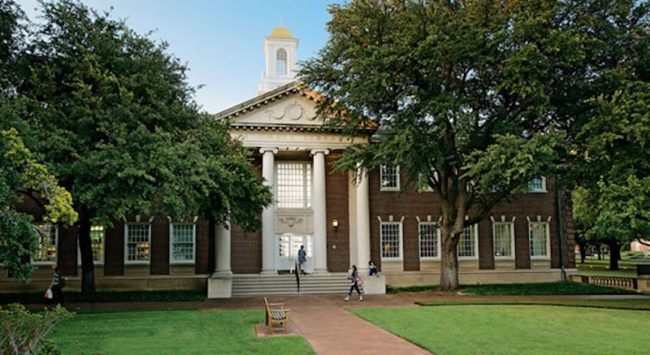 Bridwell Library SMU