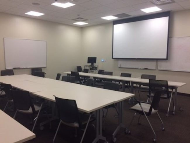McElvaney Commons Classroom SMU
