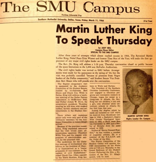 MLK-at-SMU-DailyCampus-11march1966.jpg