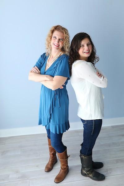 Julie Hornok and her daughter Lizzie Hornok.jpg