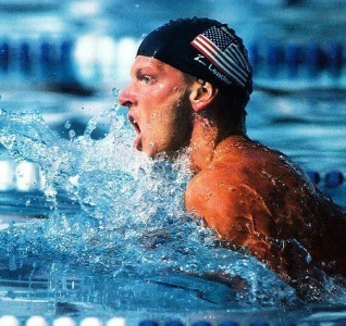 Lunquist held the 100-meter breaststroke world record from 1982  to 1989. (Courtesy of atlantasportshalloffame.com)