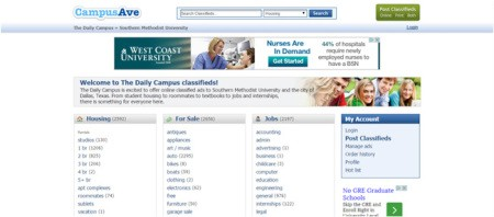 How to post a classified ad – SMU Daily Campus