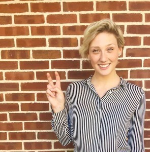 Nicki Fletcher is running for Student Body Vice President. Photo credit: Nicki Fletcher