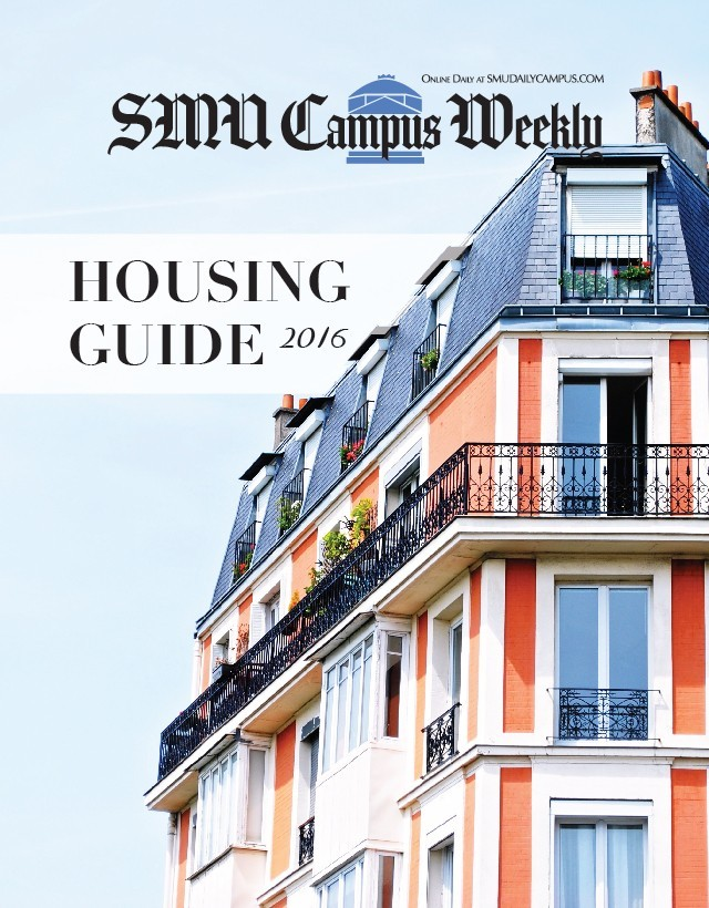 2016 Housing Guide cover