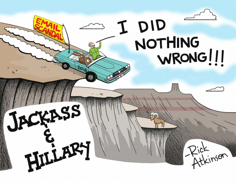 This week's cartoon: Hillary Clinton's 'ride or die' reaction to email scandal