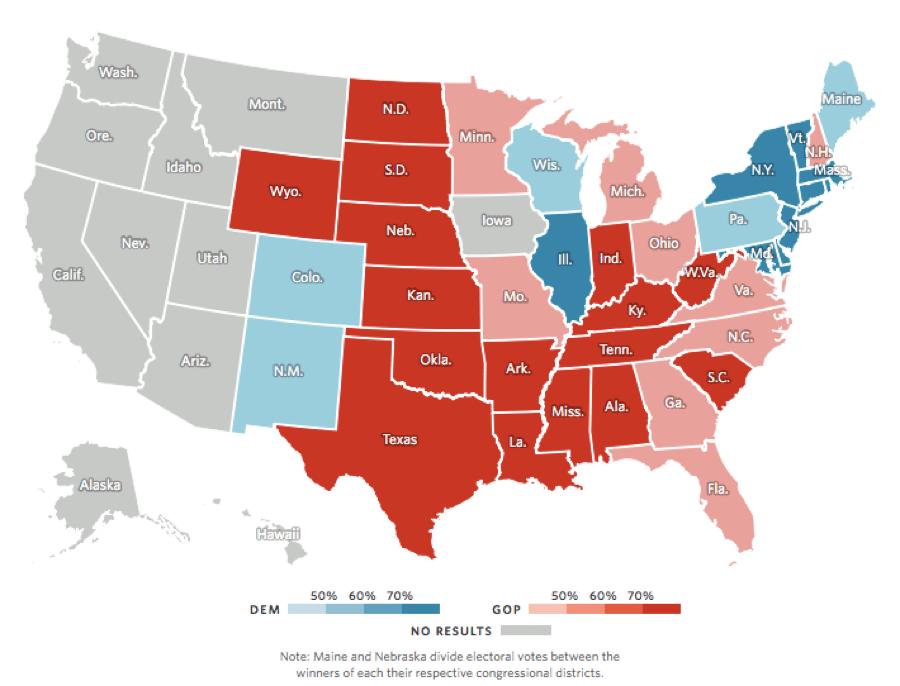 UPDATES: Battleground states