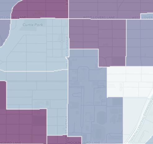 Near Campus Income Average