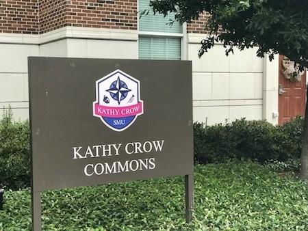Anti-gay slur written on Kathy Crow Commons