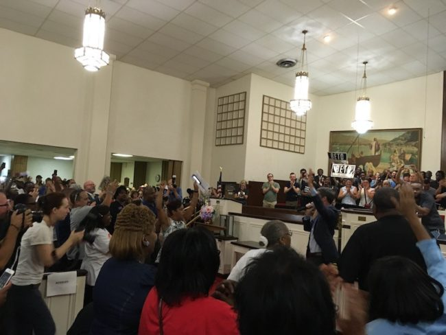 Beto O'Rourke Good Street Baptist Church Dallas Town Hall Meeting.JPG