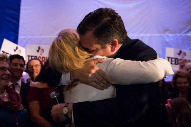 Cruz Embraces Heidi