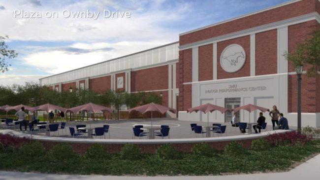 SMU New Indoor Sports Center