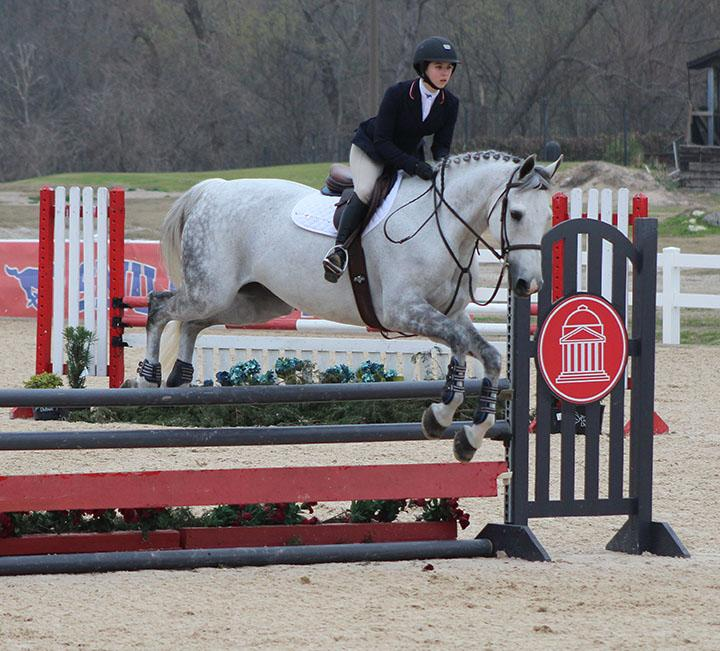 The SMU Equestrian team celebrated its seniors during their last home competition at the Dallas Equestrian Center on Saturday, March 2, 2019.