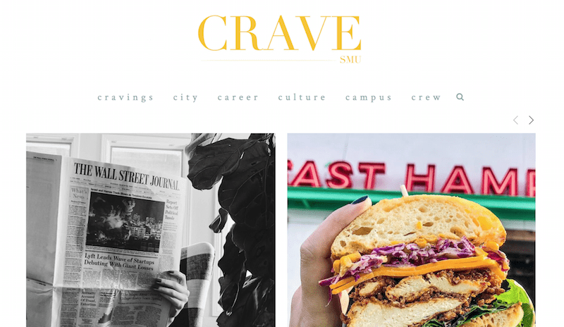 Seven students launch SMU Crave, a new campus lifestyle website