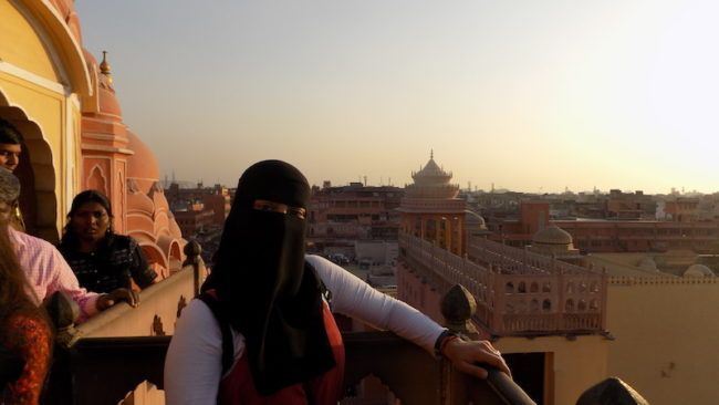 Sadiya Patel in Jaipur, India