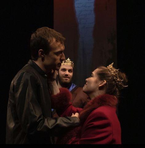 Lauren Floyd plays Ophelia opposite Neil Redfield's Hamlet.