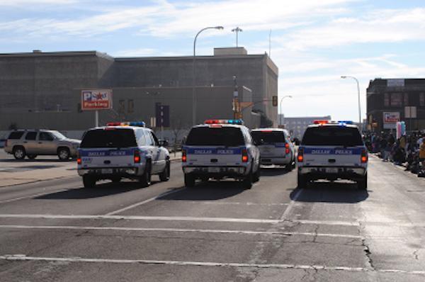Dallas Police Department (DPD) squad cars
